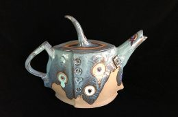"Tea Time Study – 11""x14""x5.75"" – $675"