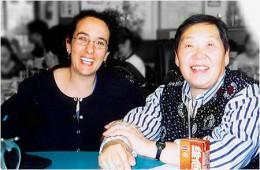 Trudy with Grandmaster Shen, Hai Min-Alhambra, California